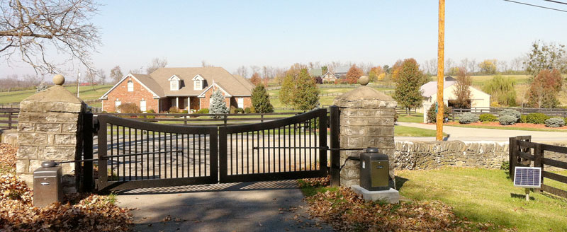 Automated Gate Systems - Residential Gate Systems for Central Kentucky
